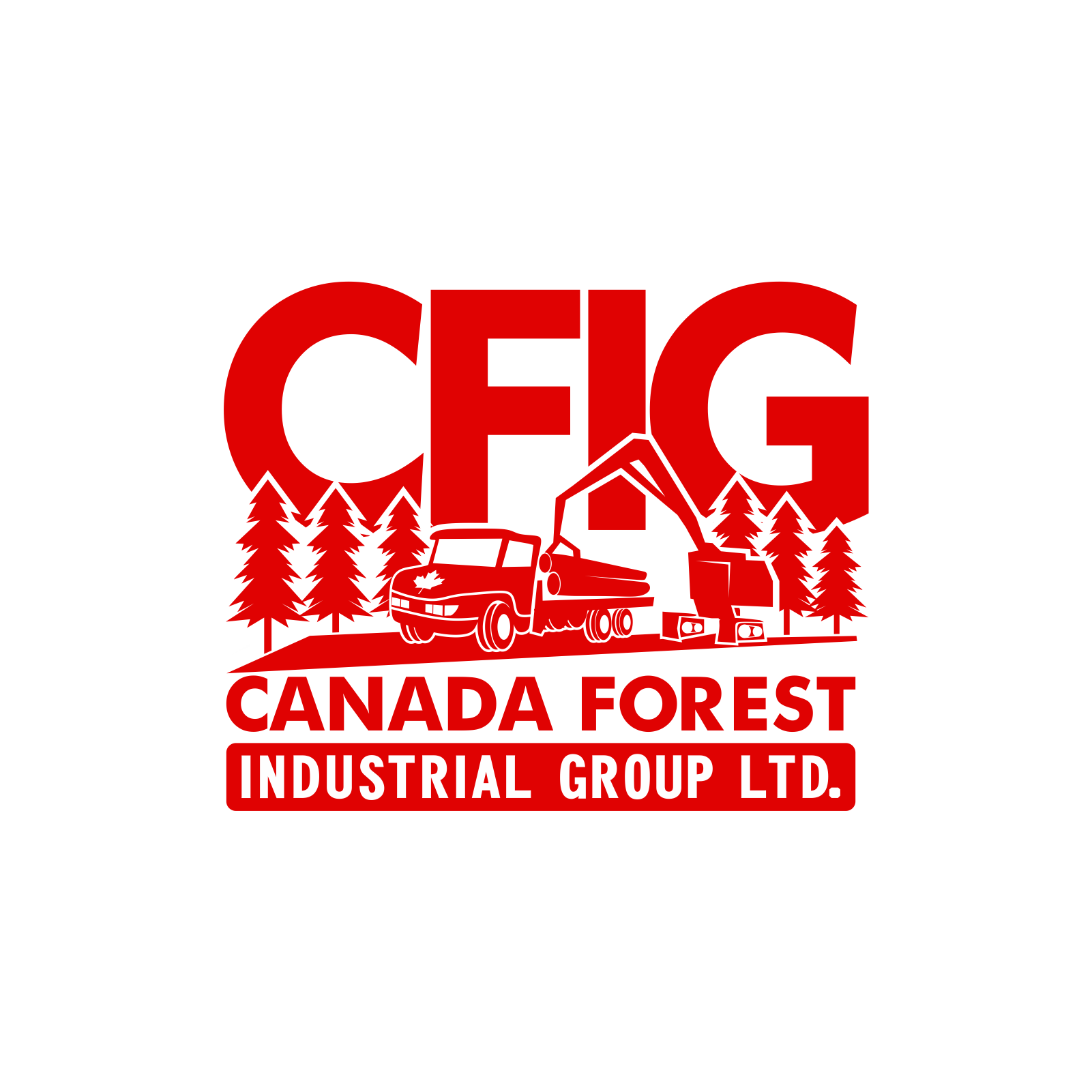 Logo Design by moisesf - Entry No. 90 in the Logo Design Contest Creative Logo Design for Canada Forest Industrial Group Ltd..
