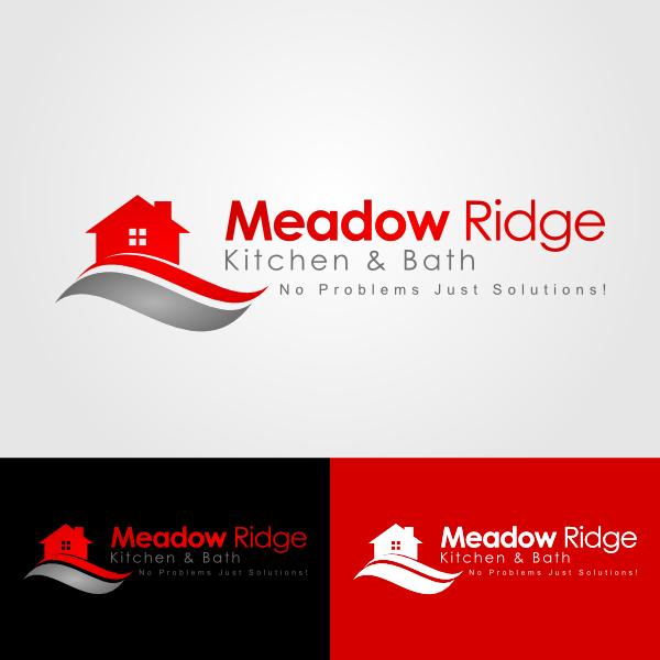 Logo Design by Andrean Susanto - Entry No. 76 in the Logo Design Contest Meadow Ridge Custom Kitchen & Bath.