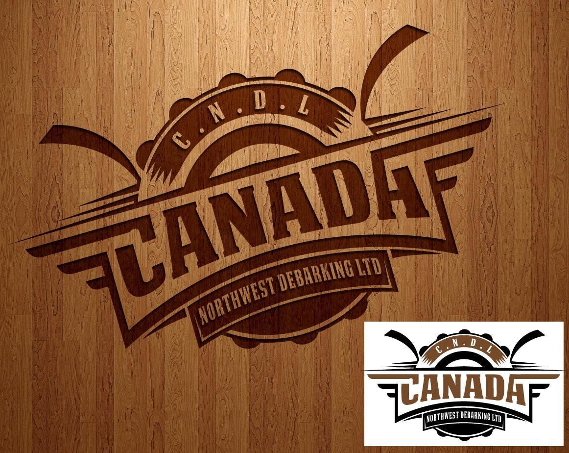 Logo Design by lagalag - Entry No. 63 in the Logo Design Contest Creative Logo Design for Canada Northwest Debarking Ltd..