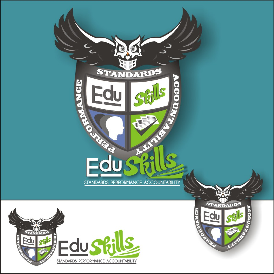 Logo Design by vector.five - Entry No. 98 in the Logo Design Contest Edu-Skills.