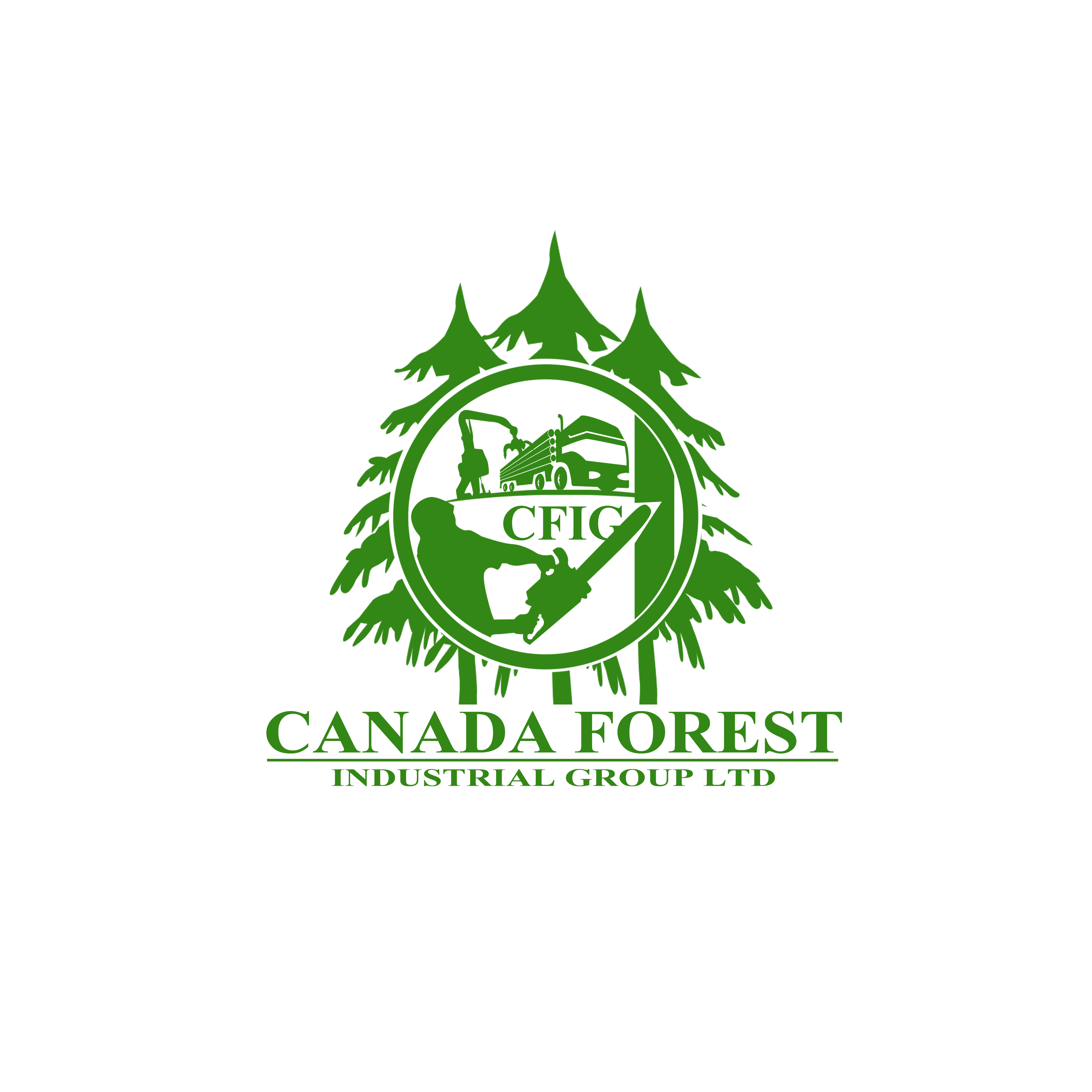 Logo Design by Allan Esclamado - Entry No. 118 in the Logo Design Contest Creative Logo Design for Canada Forest Industrial Group Ltd..