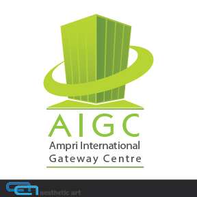Logo Design by aesthetic-art - Entry No. 45 in the Logo Design Contest Ampri International Gateway Centre (AIGC).