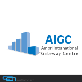 Logo Design by aesthetic-art - Entry No. 46 in the Logo Design Contest Ampri International Gateway Centre (AIGC).
