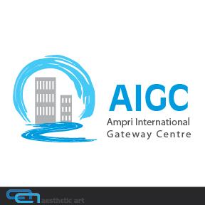 Logo Design by aesthetic-art - Entry No. 47 in the Logo Design Contest Ampri International Gateway Centre (AIGC).