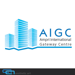 Logo Design by aesthetic-art - Entry No. 49 in the Logo Design Contest Ampri International Gateway Centre (AIGC).