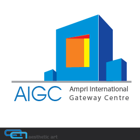 Logo Design by aesthetic-art - Entry No. 50 in the Logo Design Contest Ampri International Gateway Centre (AIGC).