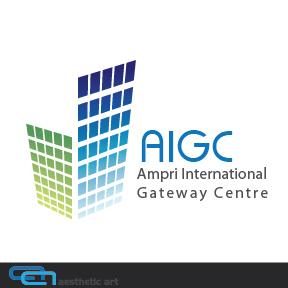 Logo Design by aesthetic-art - Entry No. 51 in the Logo Design Contest Ampri International Gateway Centre (AIGC).