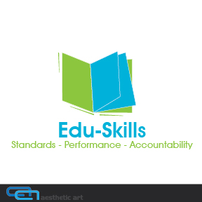Logo Design by aesthetic-art - Entry No. 105 in the Logo Design Contest Edu-Skills.