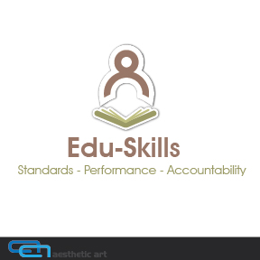 Logo Design by aesthetic-art - Entry No. 106 in the Logo Design Contest Edu-Skills.