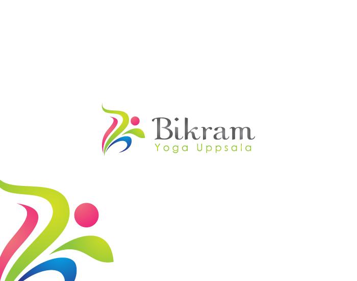 Logo Design by Private User - Entry No. 5 in the Logo Design Contest Artistic Logo Design for Bikram Yoga Uppsala.
