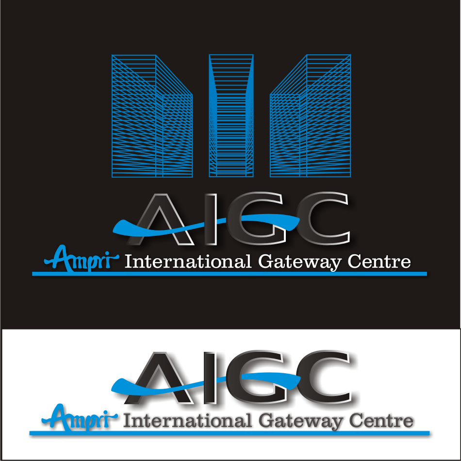 Logo Design by vector.five - Entry No. 53 in the Logo Design Contest Ampri International Gateway Centre (AIGC).