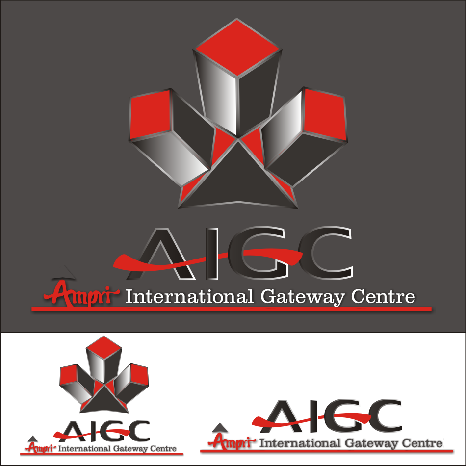 Logo Design by vector.five - Entry No. 54 in the Logo Design Contest Ampri International Gateway Centre (AIGC).