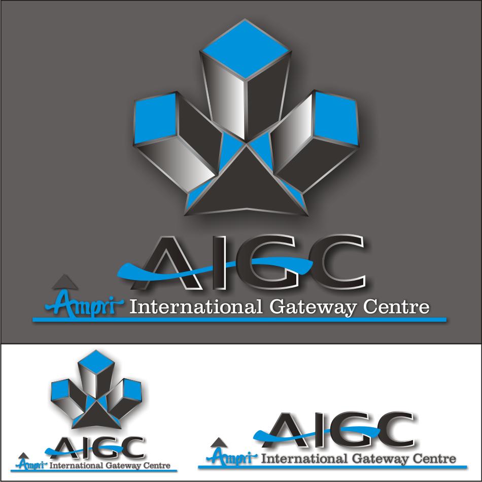 Logo Design by vector.five - Entry No. 55 in the Logo Design Contest Ampri International Gateway Centre (AIGC).