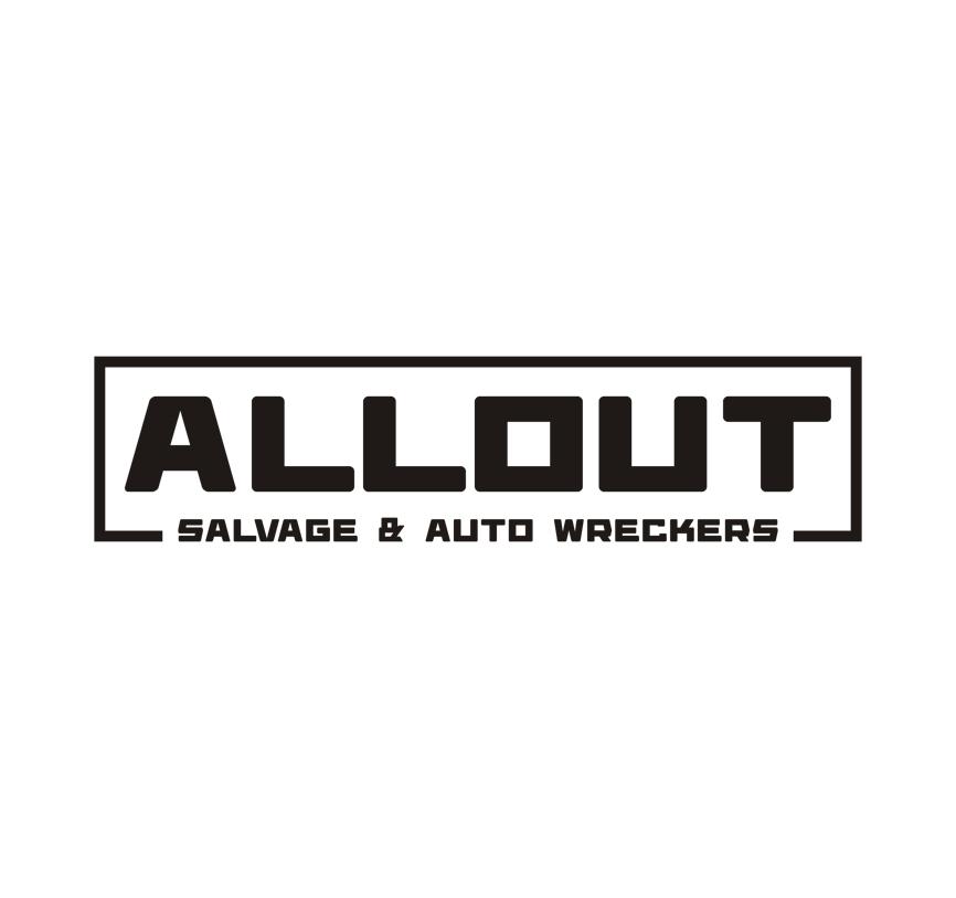 Logo Design by RasYa Muhammad Athaya - Entry No. 20 in the Logo Design Contest Inspiring Logo Design for Allout Salvage & Auto Wreckers.