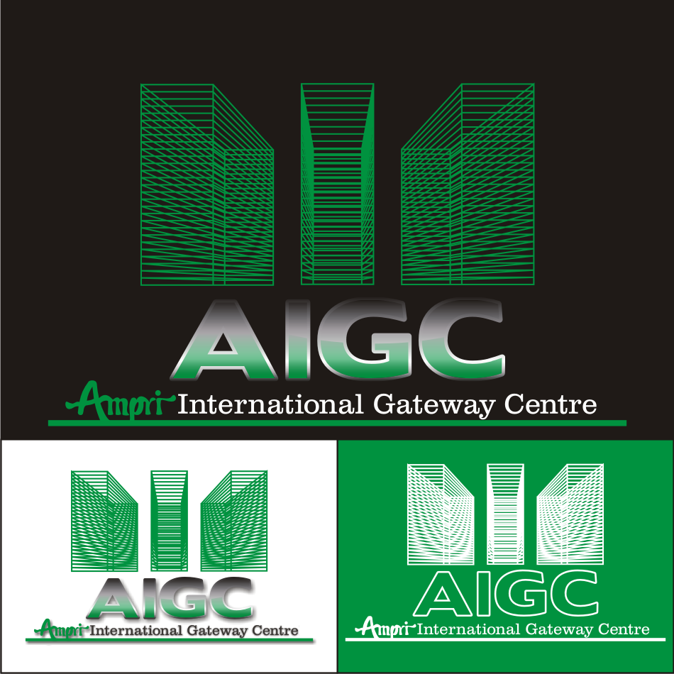 Logo Design by vector.five - Entry No. 58 in the Logo Design Contest Ampri International Gateway Centre (AIGC).