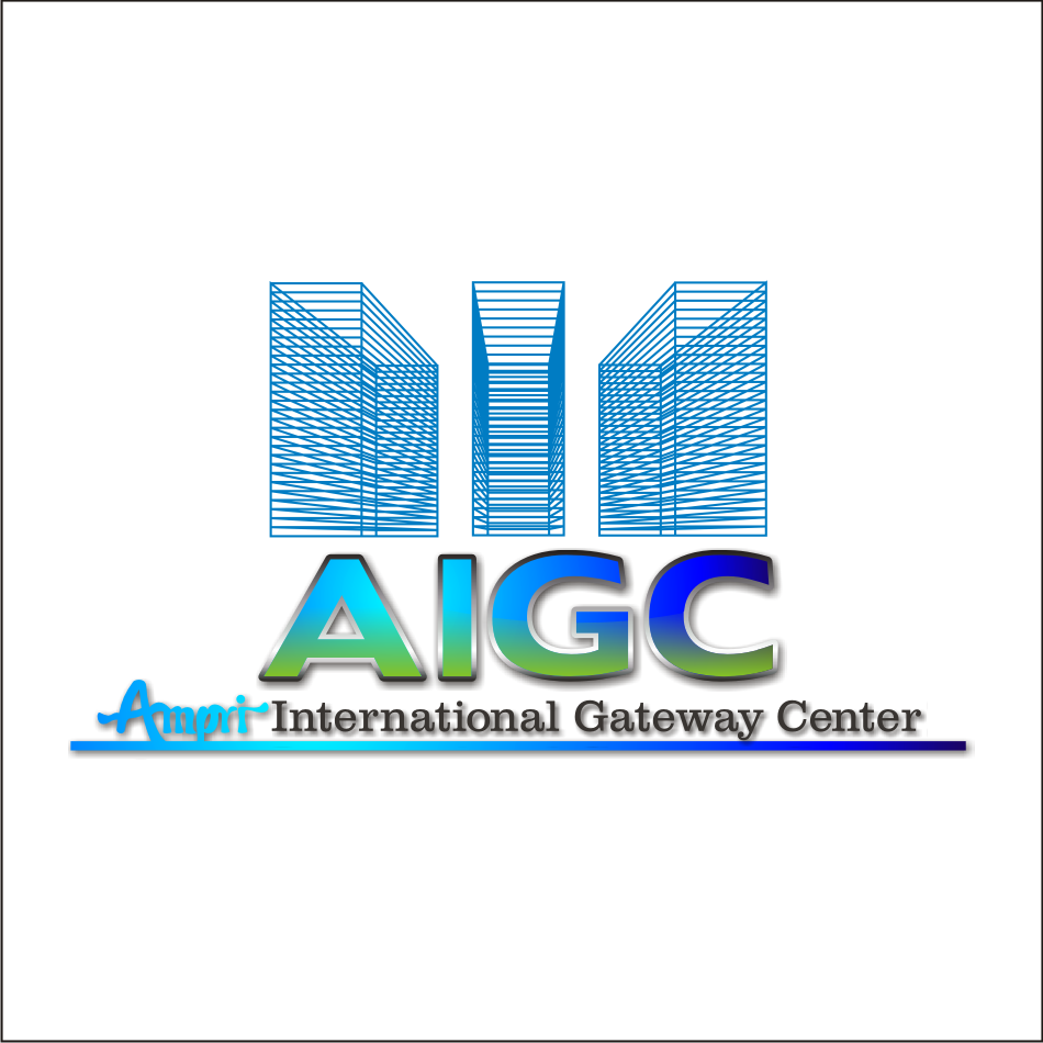 Logo Design by vector.five - Entry No. 59 in the Logo Design Contest Ampri International Gateway Centre (AIGC).