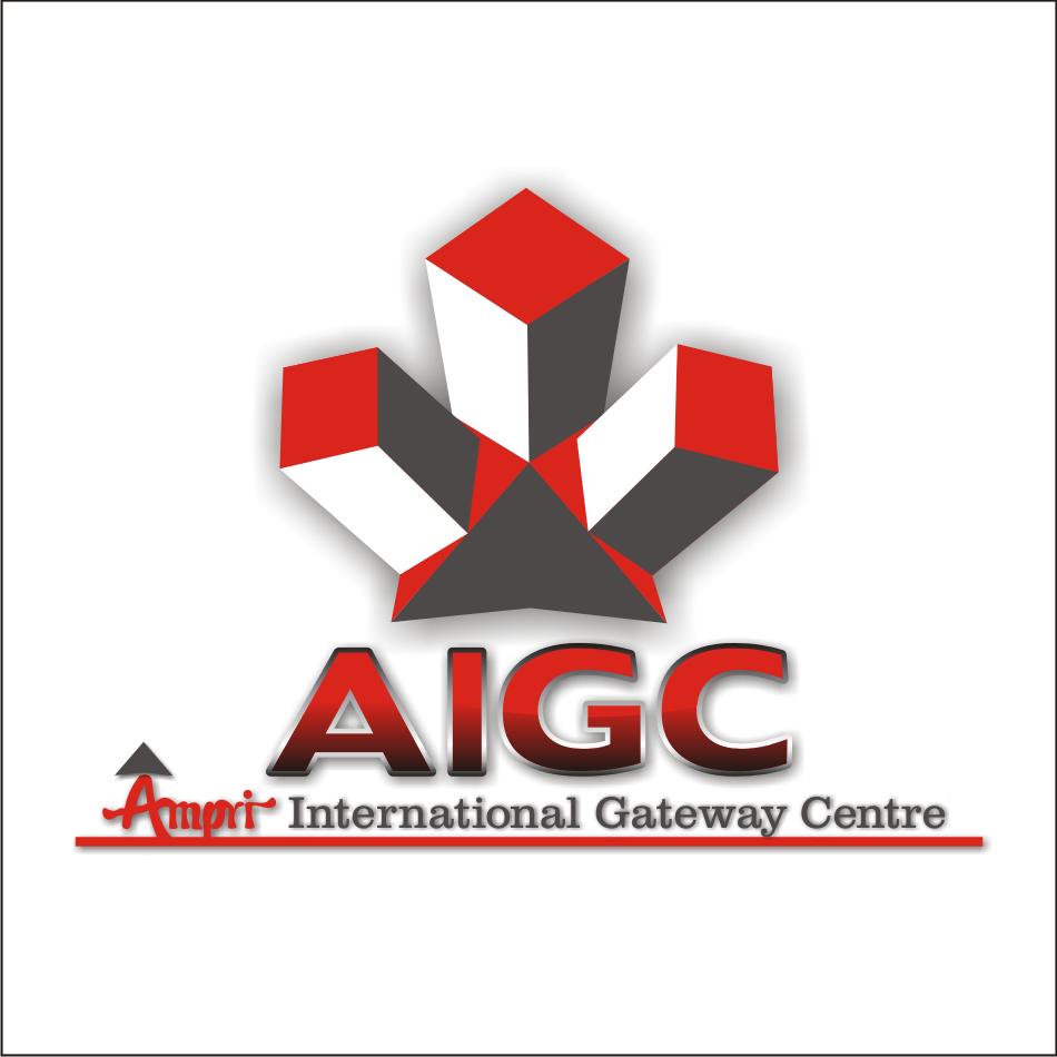 Logo Design by vector.five - Entry No. 61 in the Logo Design Contest Ampri International Gateway Centre (AIGC).