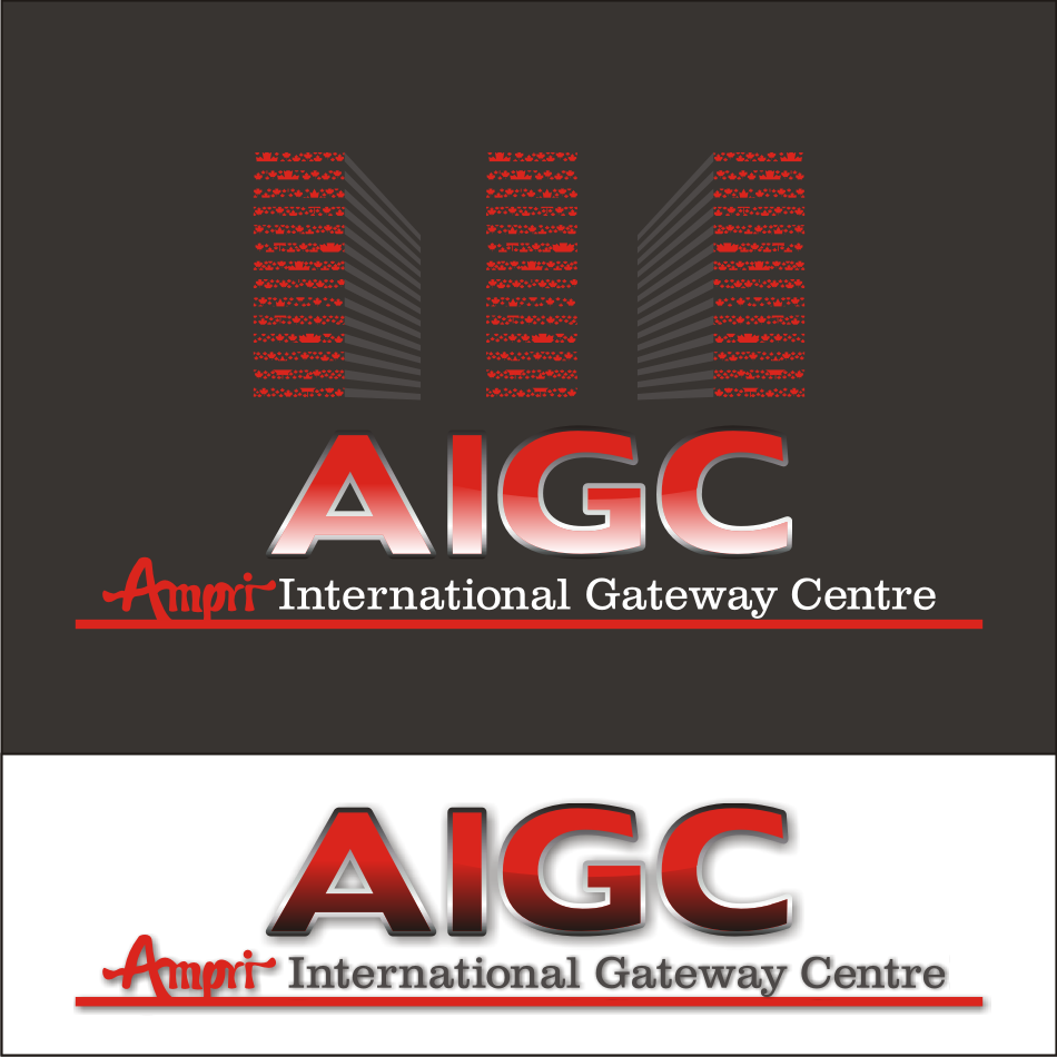 Logo Design by vector.five - Entry No. 62 in the Logo Design Contest Ampri International Gateway Centre (AIGC).