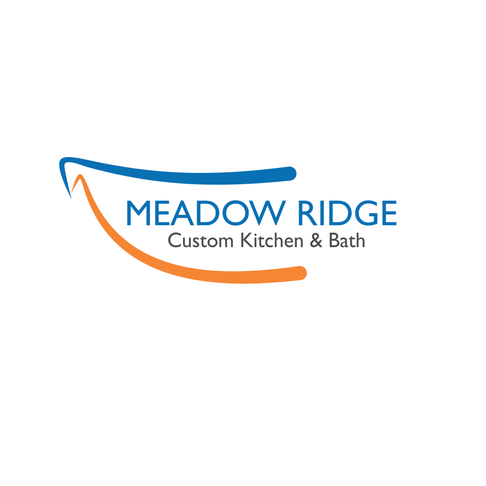Logo Design by hammet77 - Entry No. 94 in the Logo Design Contest Meadow Ridge Custom Kitchen & Bath.