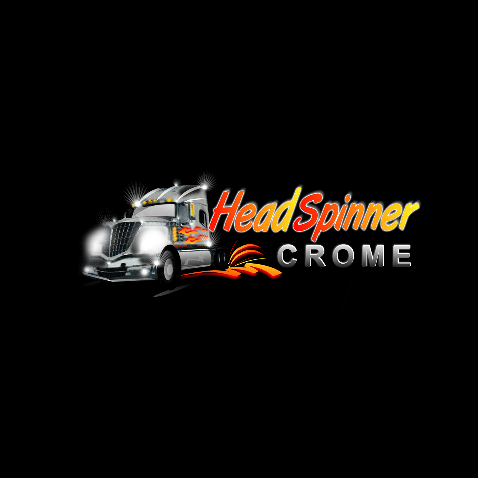 Logo Design by luwabu - Entry No. 4 in the Logo Design Contest Head Spinner Chrome.