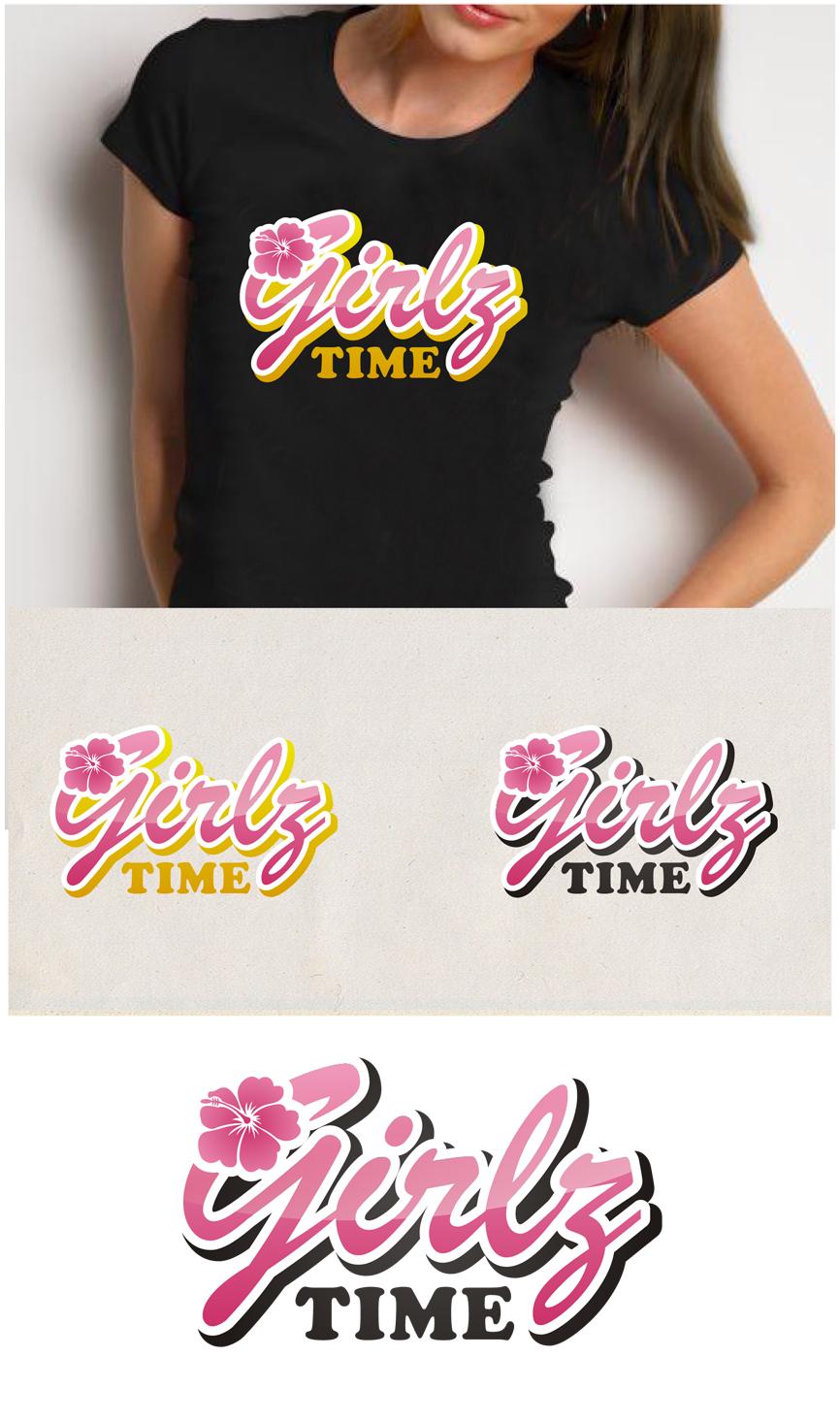 Logo Design by RasYa Muhammad Athaya - Entry No. 65 in the Logo Design Contest Fun Logo Design for Girlz Time.
