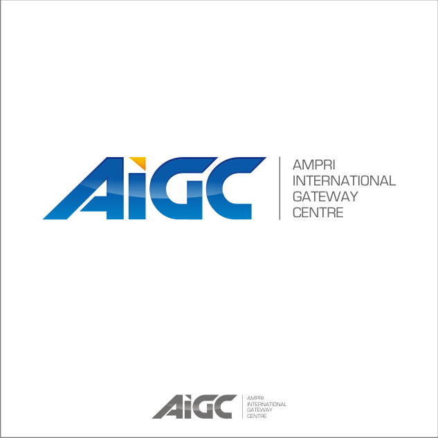 Logo Design by key - Entry No. 66 in the Logo Design Contest Ampri International Gateway Centre (AIGC).