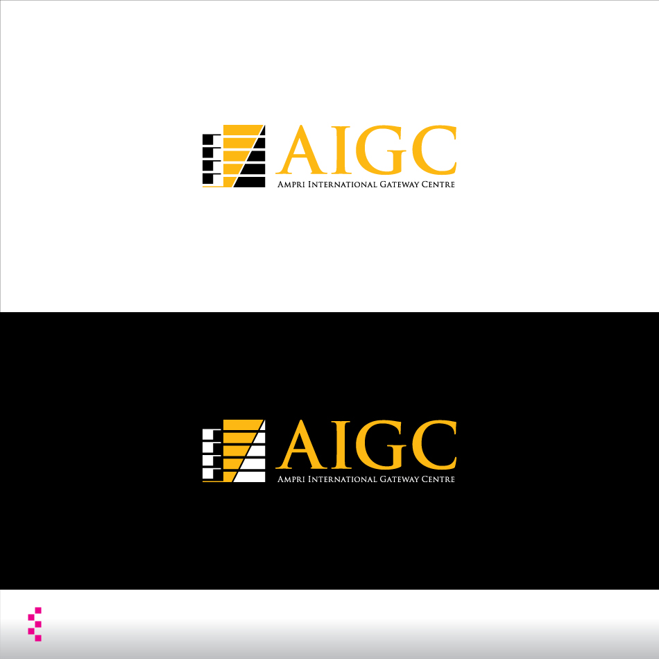 Logo Design by elemts2103 - Entry No. 68 in the Logo Design Contest Ampri International Gateway Centre (AIGC).