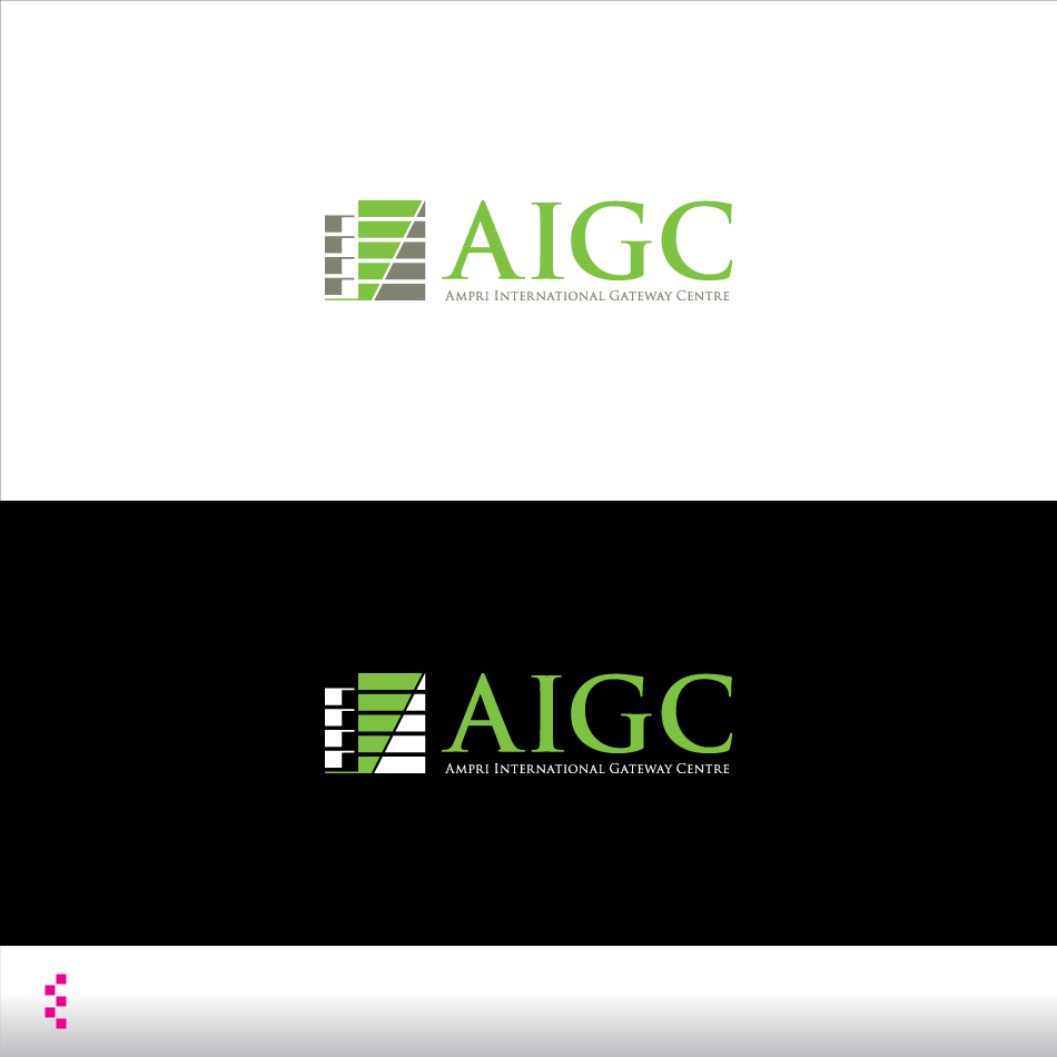 Logo Design by elemts2103 - Entry No. 69 in the Logo Design Contest Ampri International Gateway Centre (AIGC).