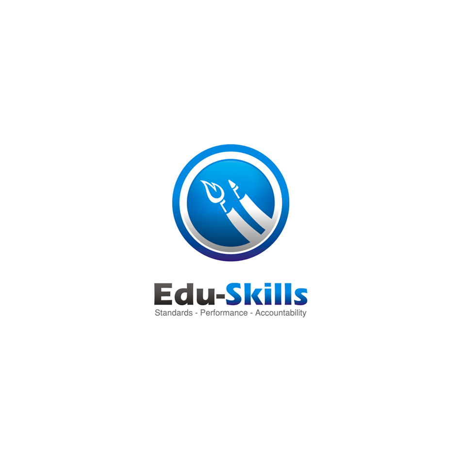 Logo Design by moxlabs - Entry No. 115 in the Logo Design Contest Edu-Skills.
