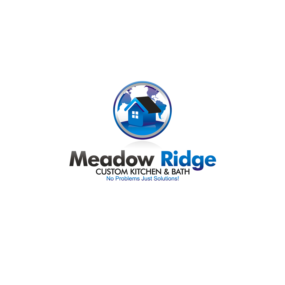 Logo Design by moxlabs - Entry No. 97 in the Logo Design Contest Meadow Ridge Custom Kitchen & Bath.
