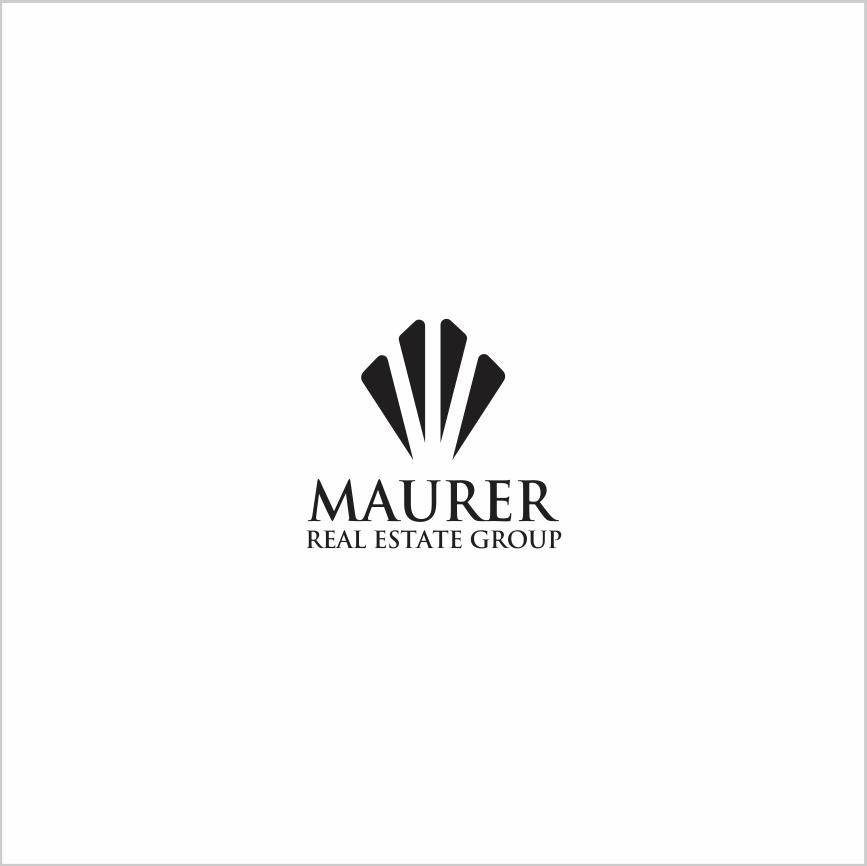Logo Design by Armada Jamaluddin - Entry No. 12 in the Logo Design Contest Maurer real estate group Logo Design.