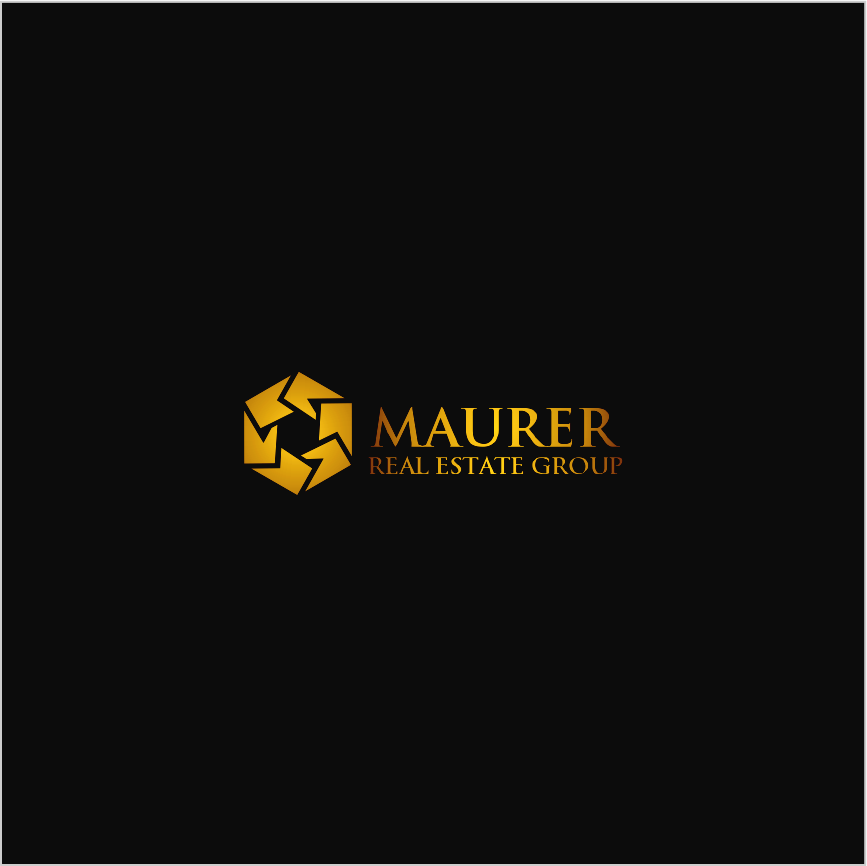 Logo Design by Armada Jamaluddin - Entry No. 13 in the Logo Design Contest Maurer real estate group Logo Design.