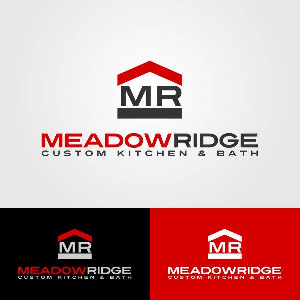 Logo Design by Andrean Susanto - Entry No. 99 in the Logo Design Contest Meadow Ridge Custom Kitchen & Bath.