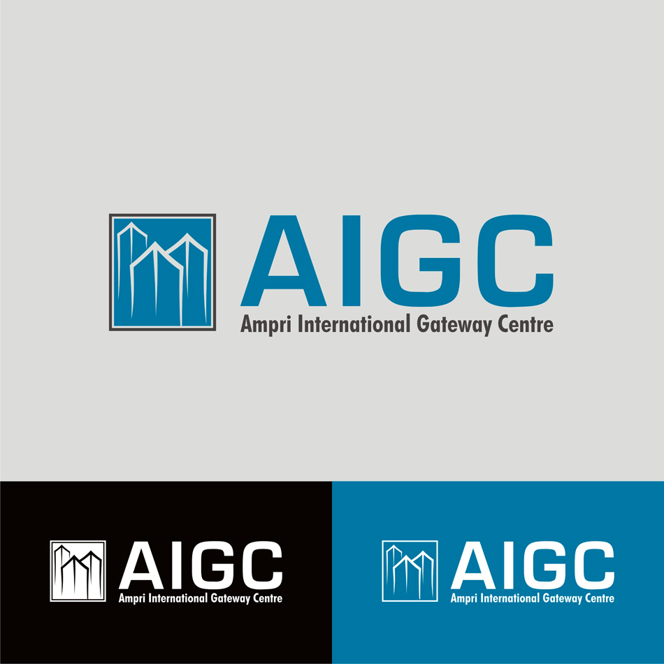 Logo Design by badoeng - Entry No. 73 in the Logo Design Contest Ampri International Gateway Centre (AIGC).
