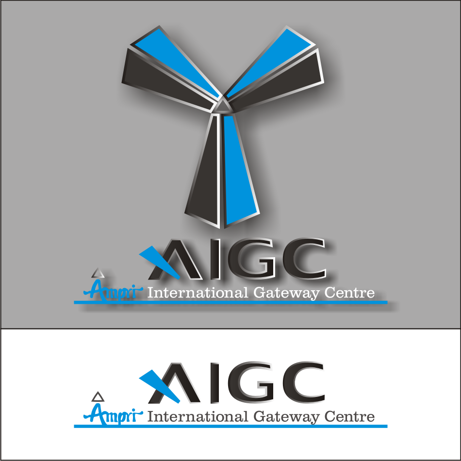 Logo Design by vector.five - Entry No. 76 in the Logo Design Contest Ampri International Gateway Centre (AIGC).