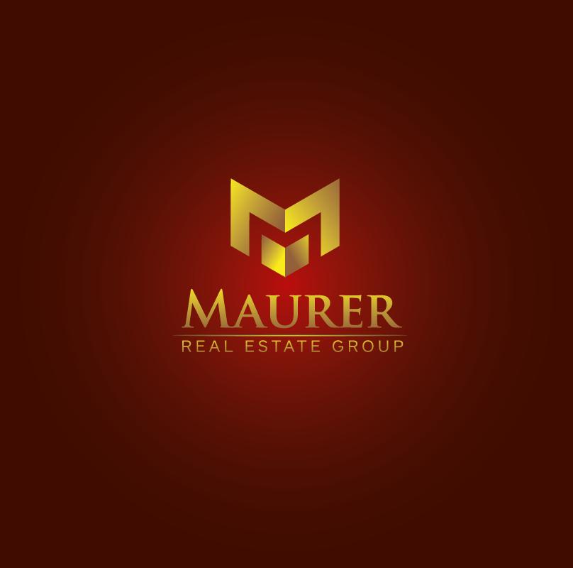Logo Design by roc - Entry No. 19 in the Logo Design Contest Maurer real estate group Logo Design.