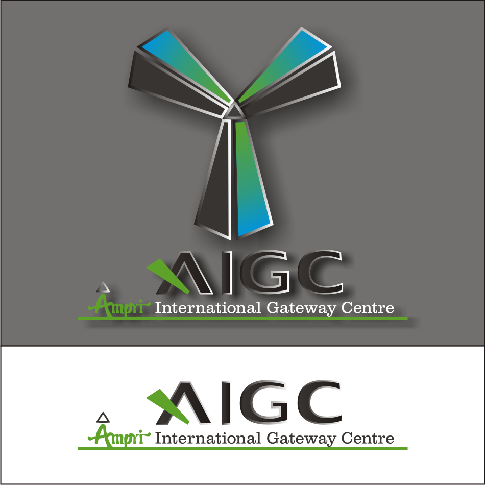 Logo Design by vector.five - Entry No. 78 in the Logo Design Contest Ampri International Gateway Centre (AIGC).