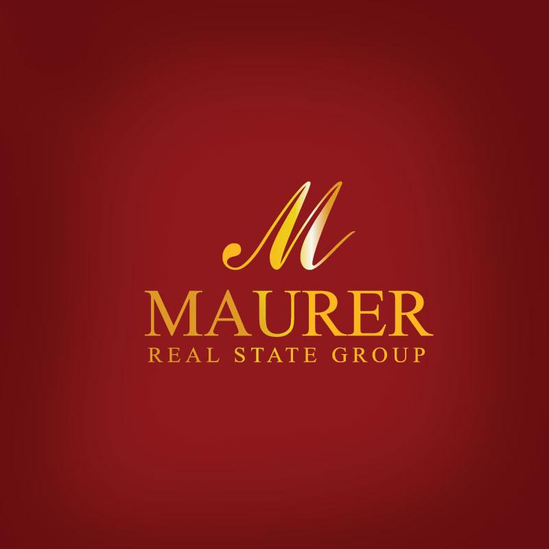 Logo Design by Private User - Entry No. 22 in the Logo Design Contest Maurer real estate group Logo Design.