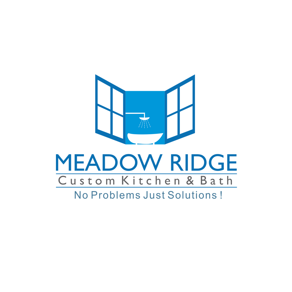 Logo Design by hammet77 - Entry No. 112 in the Logo Design Contest Meadow Ridge Custom Kitchen & Bath.