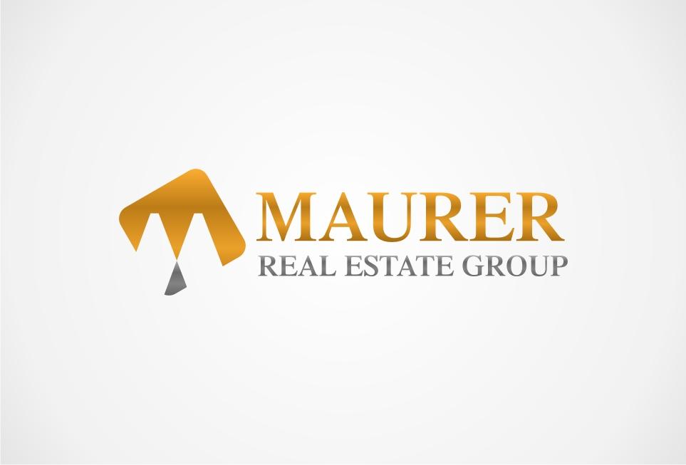 Logo Design by untung - Entry No. 34 in the Logo Design Contest Maurer real estate group Logo Design.