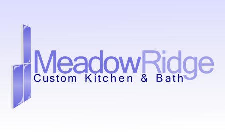 Logo Design by andrei_pele - Entry No. 113 in the Logo Design Contest Meadow Ridge Custom Kitchen & Bath.