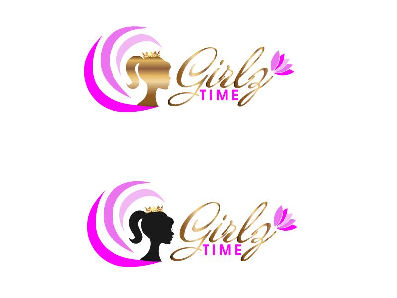 Logo Design by brands_in - Entry No. 125 in the Logo Design Contest Fun Logo Design for Girlz Time.