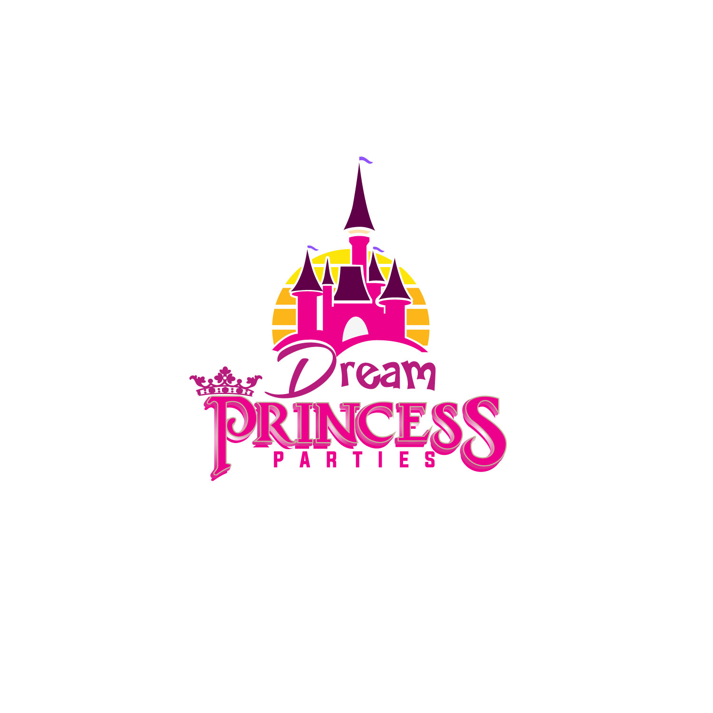 Logo Design by lagalag - Entry No. 9 in the Logo Design Contest Creative Logo Design for Dream Princess Parties.