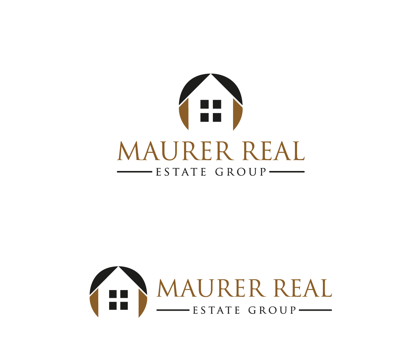 Logo Design by Apurba kumar Biswas - Entry No. 55 in the Logo Design Contest Maurer real estate group Logo Design.