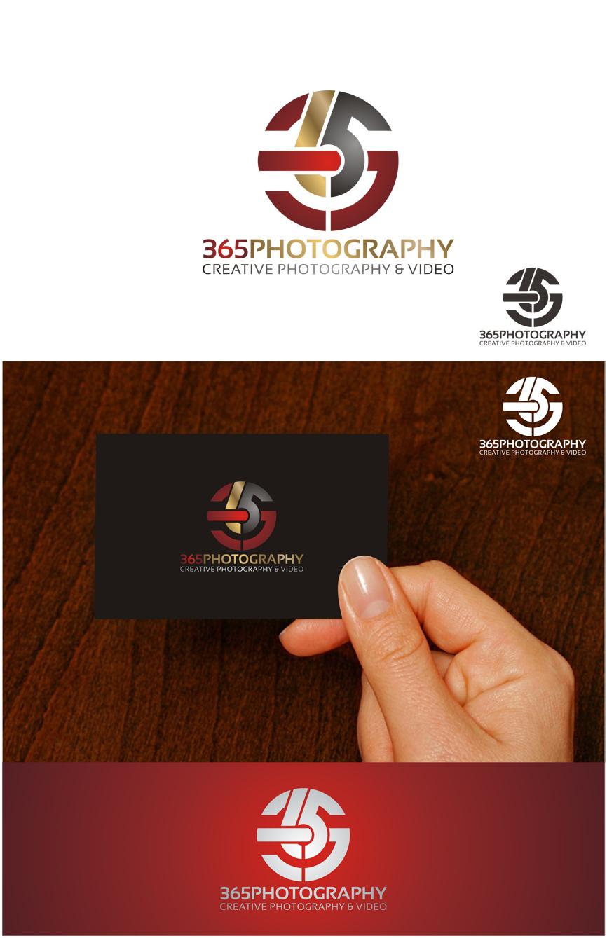 Logo Design by RasYa Muhammad Athaya - Entry No. 6 in the Logo Design Contest 365photography Creative Photography & Video Logo Design.
