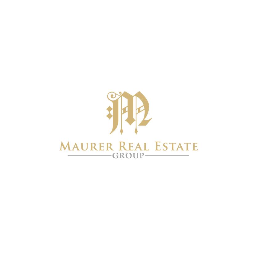 Logo Design by chAnDOS - Entry No. 59 in the Logo Design Contest Maurer real estate group Logo Design.