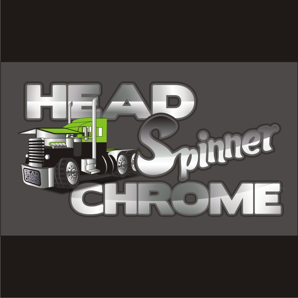 Logo Design by vector.five - Entry No. 6 in the Logo Design Contest Head Spinner Chrome.