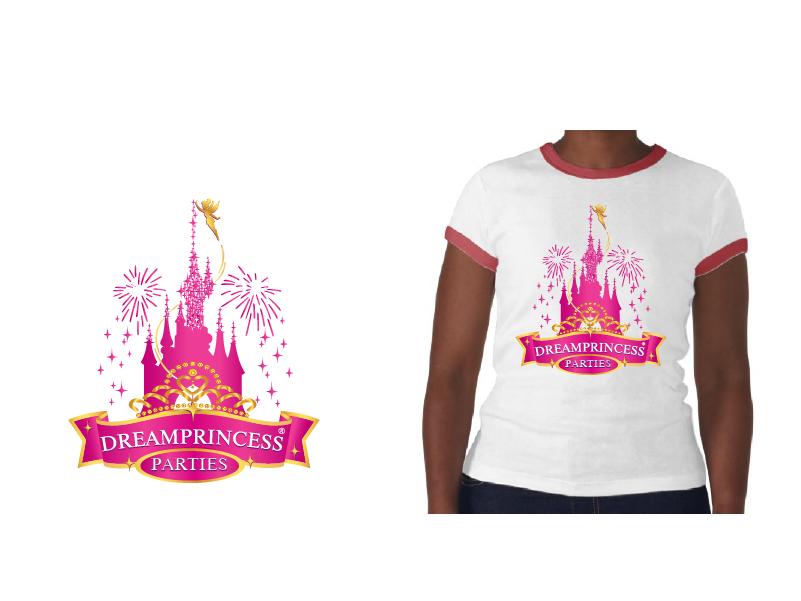 Logo Design by brands_in - Entry No. 15 in the Logo Design Contest Creative Logo Design for Dream Princess Parties.