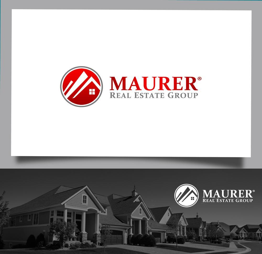 Logo Design by Fita Tiara Sani - Entry No. 77 in the Logo Design Contest Maurer real estate group Logo Design.