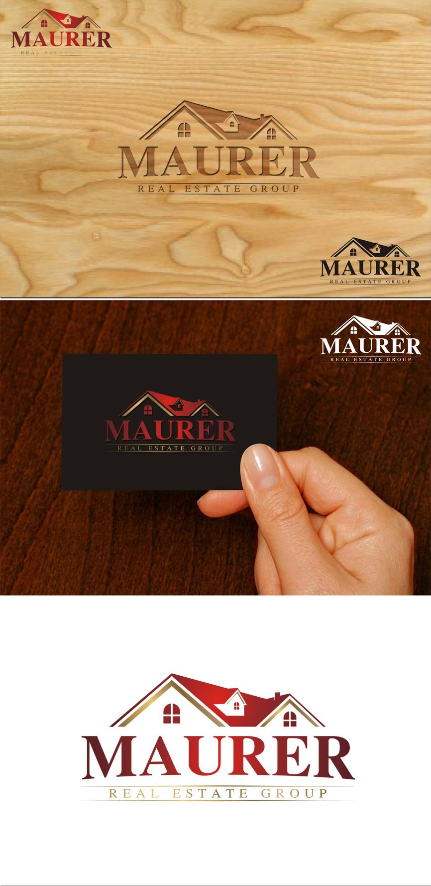 Logo Design by RasYa Muhammad Athaya - Entry No. 83 in the Logo Design Contest Maurer real estate group Logo Design.